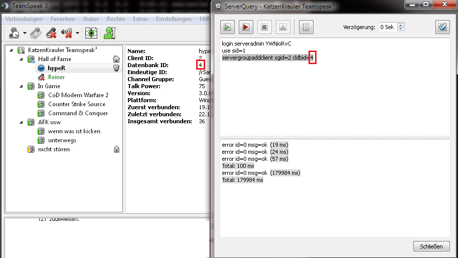ts3 server slots andern