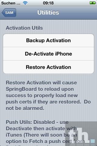 De-Activate iPhone