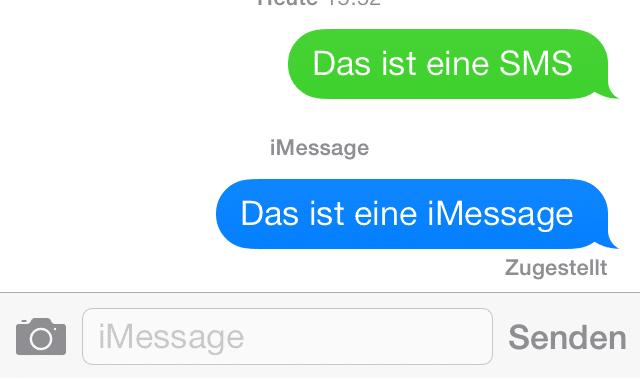 iOS 7 - iMessage Fix