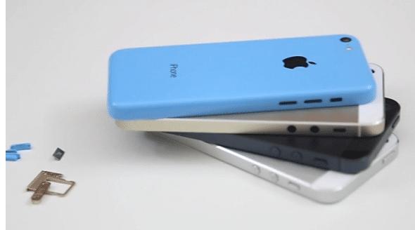 Vergleich iPhone 5S vs. 5C vs 5