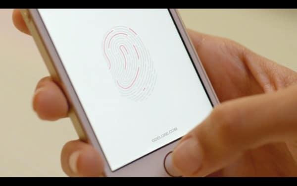 iPhone 5S - Fingerabdruck