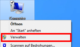 Windows - Computer   Verwalten