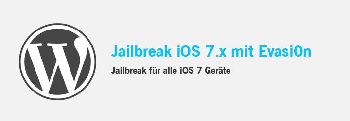 Jailbreak iOS 7.x