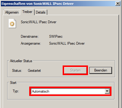 Sonicwall vpn client failed to open ipsec