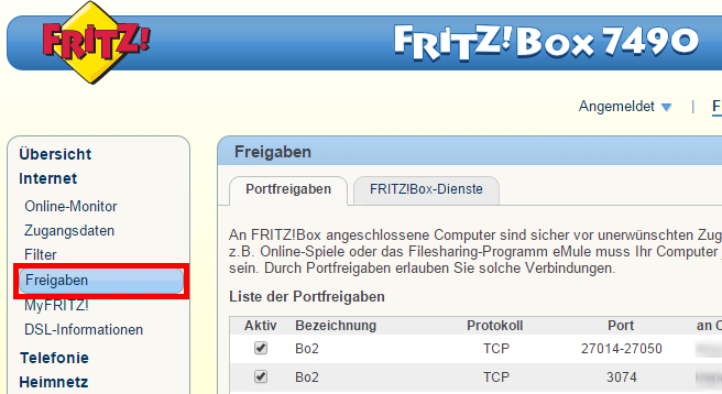 Nat Typ ändern Pc Fritzbox