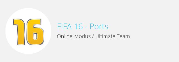 FIFA 16 - Ports