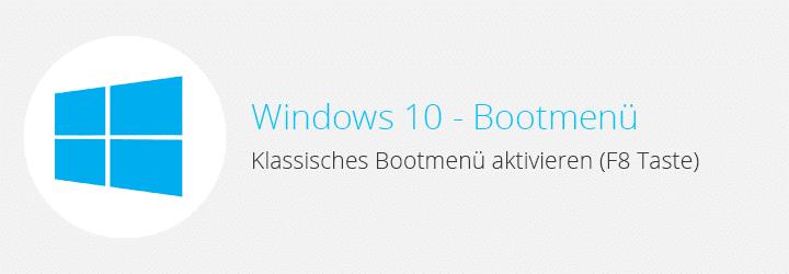 windows 10 bootmenu